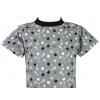 Dětské tričko puntíky detail krku compressor