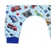 Dětské turky auta detail nohavice compressor