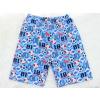 Dětské letní pyžamo fotbal detail kraťasy