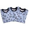 Dětské pyžamo modrý fotbal - detail