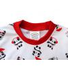Dětské pyžamo Pandy - detail krku