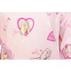 Dětské pyžamo s pejsky - detail látky