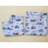 Dětské letní pyžamo s letadly - detail