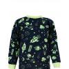 Dětské pyžamo Vesmír - detail krku