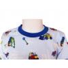 Dětské pyžamo s bagry - detail krku