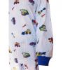 Dětské pyžamo s bagry - detail rukáv