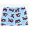 Dětské pyžamo hasiči na modré detail kalhot