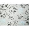 Dětská mikina s pejsky - detail látky