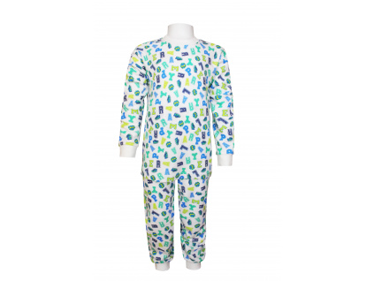 Pyžamko s písmenky