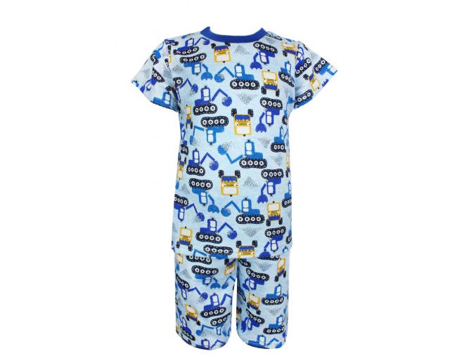 Dětské letní pyžamo bagry