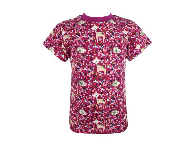 Dětské tričko srnky a ježci compressor