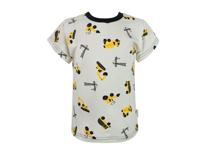 Dětské tričko bagry compressor