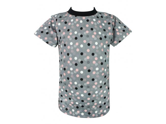 Dětské tričko puntíky compressor