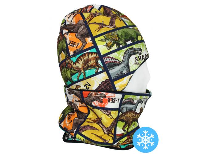 Dětská zimní čepice s nákrčníkem
