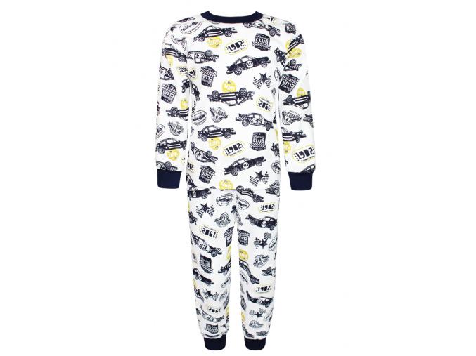 Dětské pyžamo závodní auta