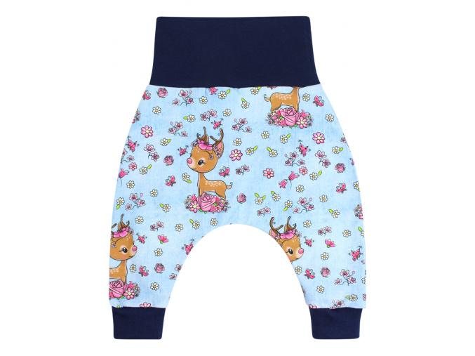 Dětské baggy kalhoty srnky