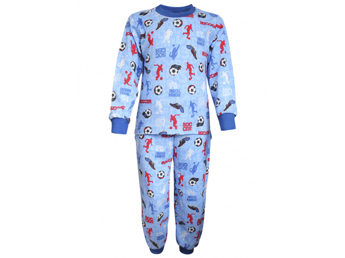 Dětské pyžamo s kopačkami