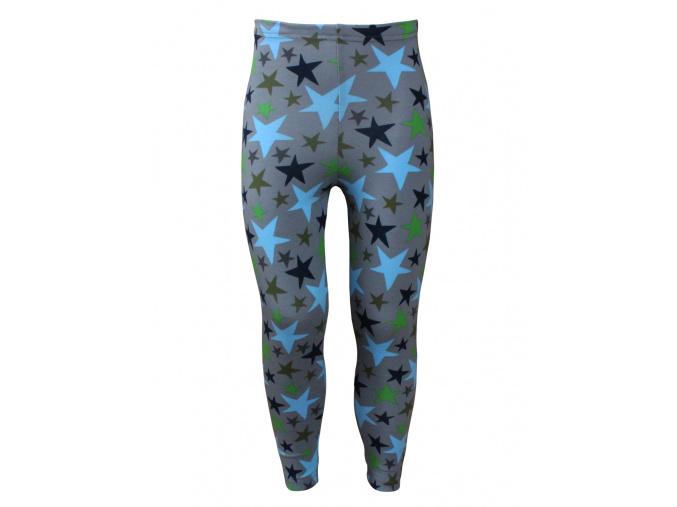 Dětské legíny s modrou hvězdou