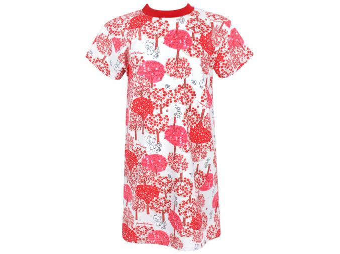 Dětská noční košile Červený les