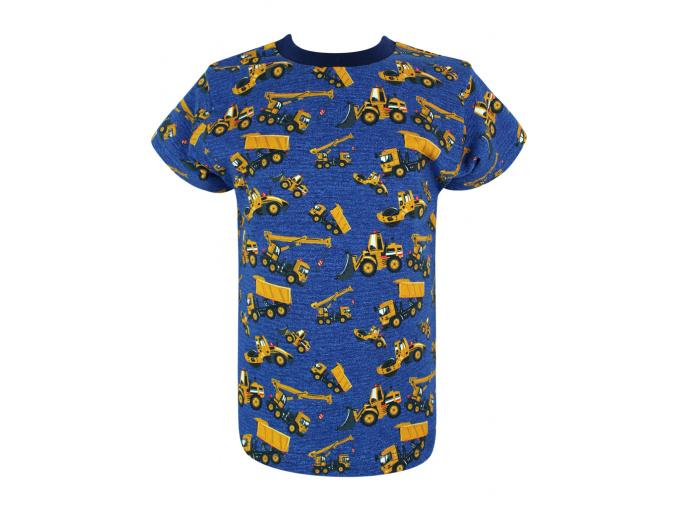 Dětské triko Bagry na džínové