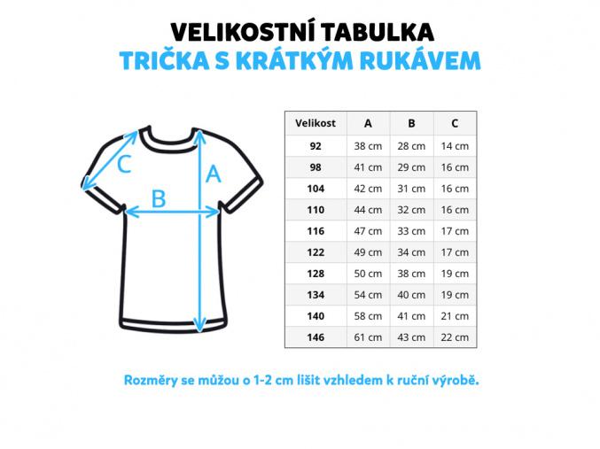 Dětské triko Lesní zvířátka na hořčicové