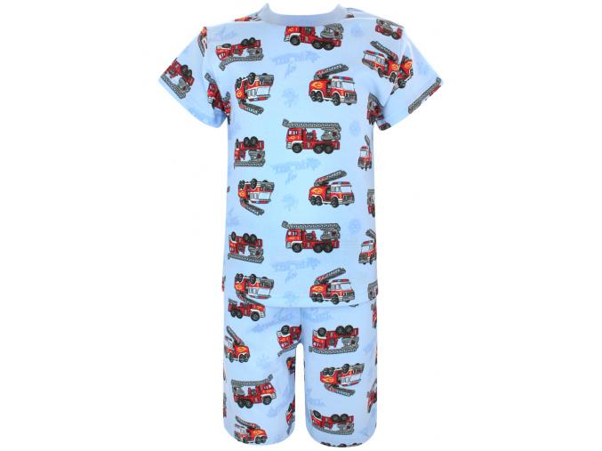 Dětské pyžamo s krátkým rukávem hasiči