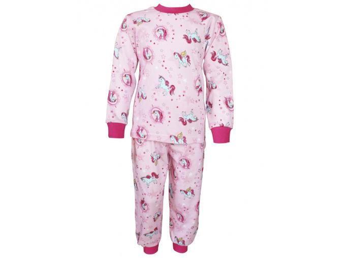 Dětské pyžamo s jednorožci