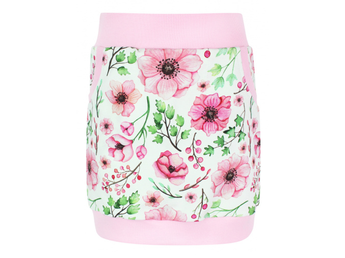 Dětská sukně růžičky