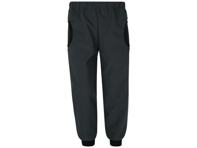 Dětské šedé softshellové kalhoty kopie