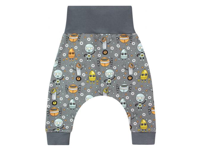Dětské baggy kalhoty roboti