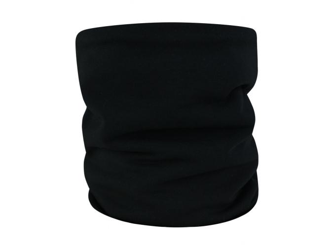 Dětský černý zateplený nákrčník