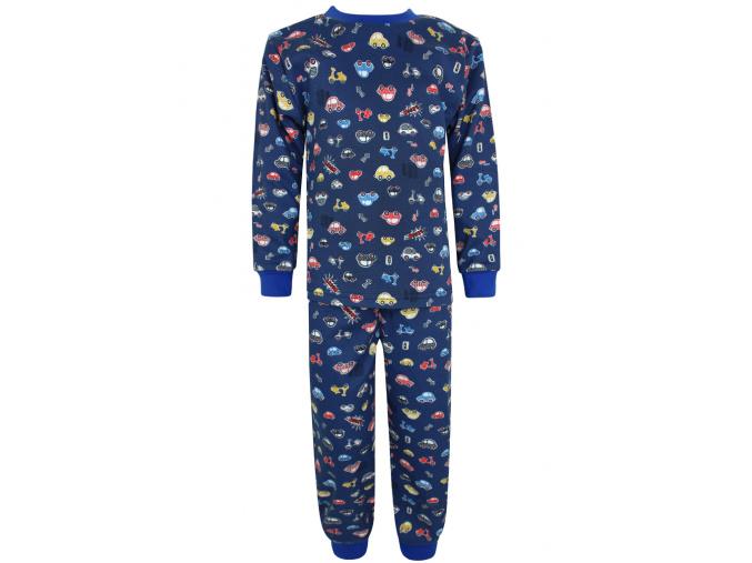 Dětské klučičí pyžamo auta a motorky