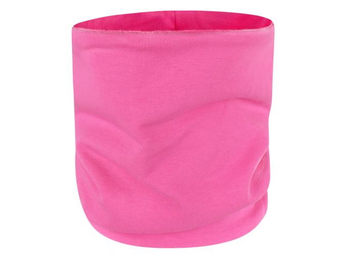 Dětský jarní podzimní růžový nákrčník