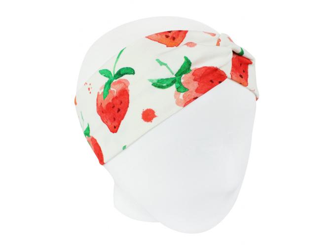 Dětská čelenka jahody kopie