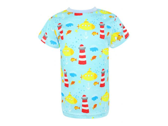 Dětské triko s krátkým rukávem Maják
