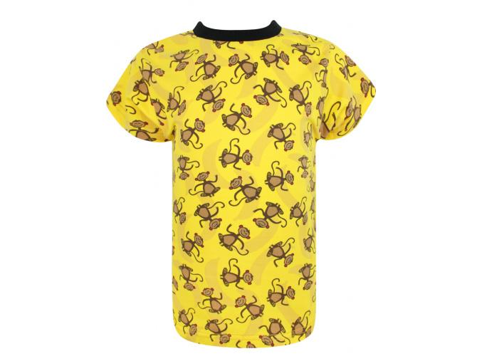 Dětské triko s krátkým rukávem opičky