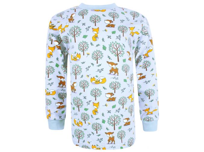 Dětské triko s dlouhým rukávem Srnka a lišky