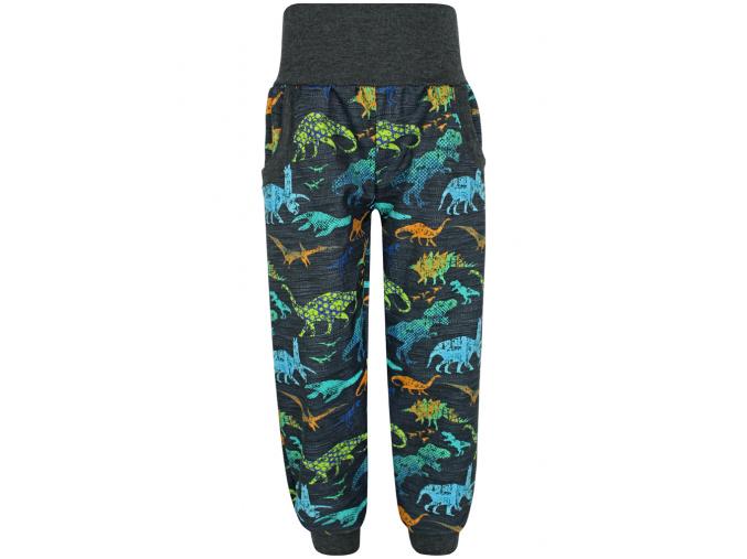 Chlapecké letní softshellové kalhoty dinosauři