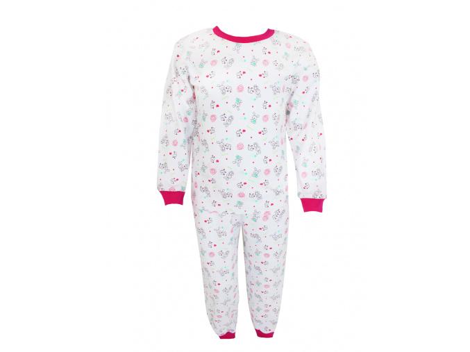 Pyžamo s králíčky pro děti