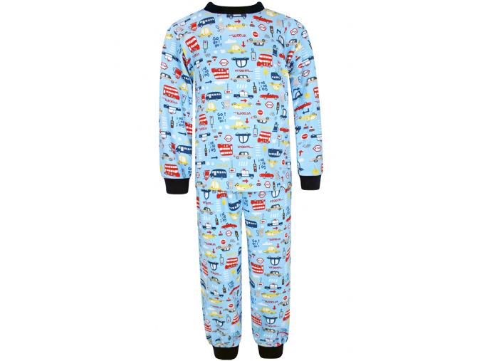 Dětské chlapecké pyžamo autíčka