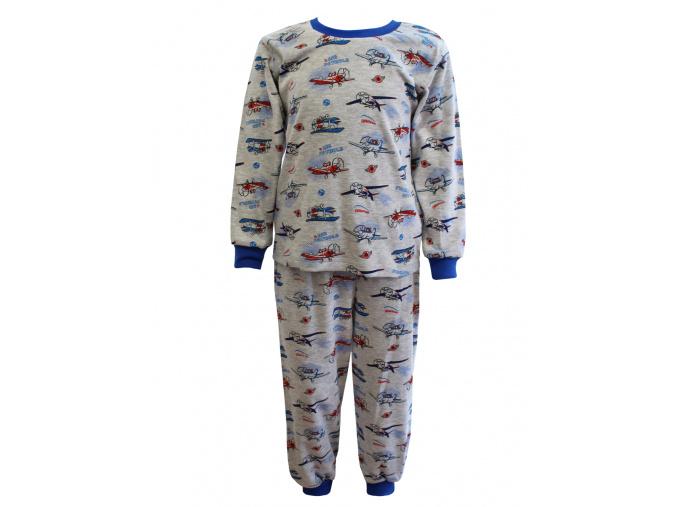 Pyžamo s letadly