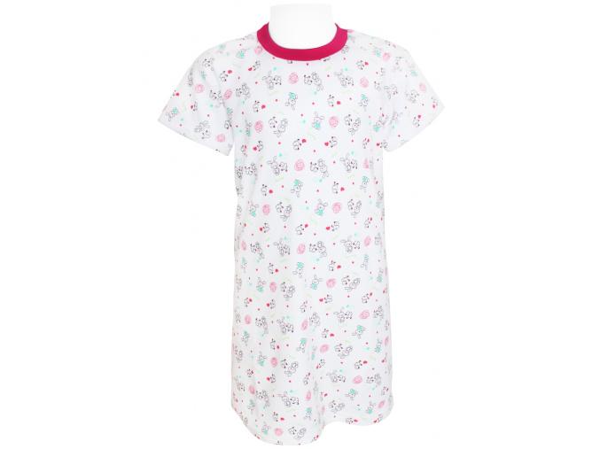 Dětská noční košile s králíčky