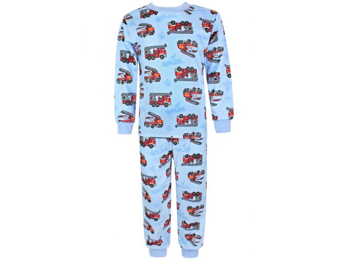 Dětské pyžamo s modrými hasiči