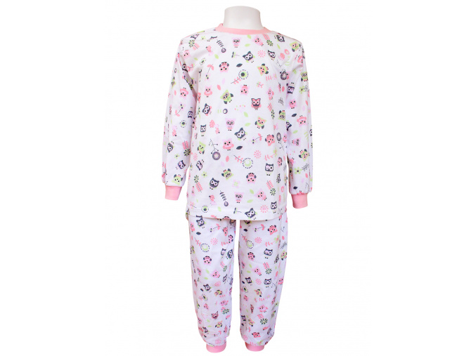Dětské pyžamo se sovičkami