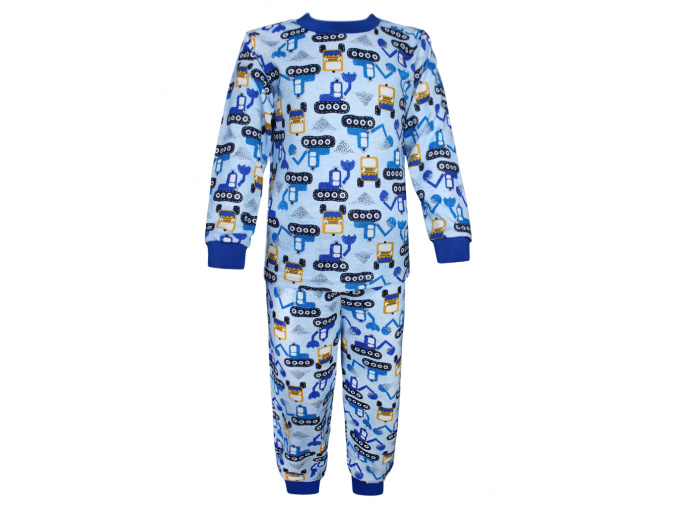 Dětské pyžamo s bagry