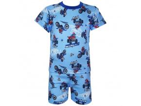 Dětské letní pyžamo s motorkami nova