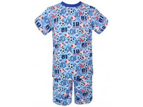 Dětské letní pyžamo fotbal