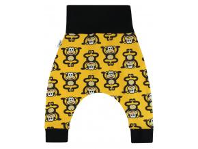 Dětské turky opičky na žluté