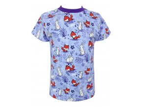 Dětské tričko pro dívky ličky a králíčci