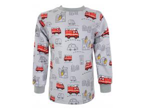 Dětské triko s dlouhým rukávem hasiči